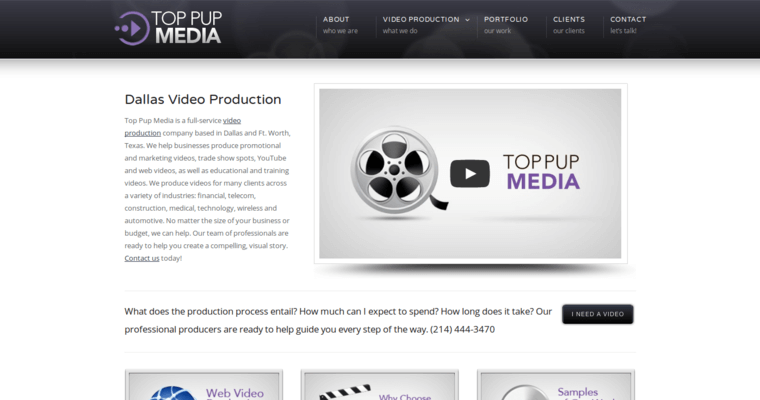 Top Pup Media   Best Video Production Companies Dallas